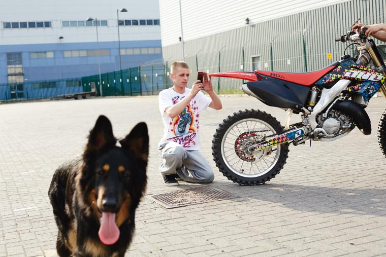 Moped bikes